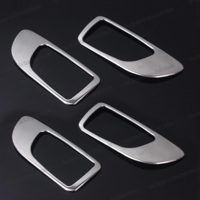 Lsrtw2017 de acero inoxidable matt manija de puerta interior de coche de adornos para mazda 6 2002, 2003, 2004, 2005, 2006, 2007, 2008