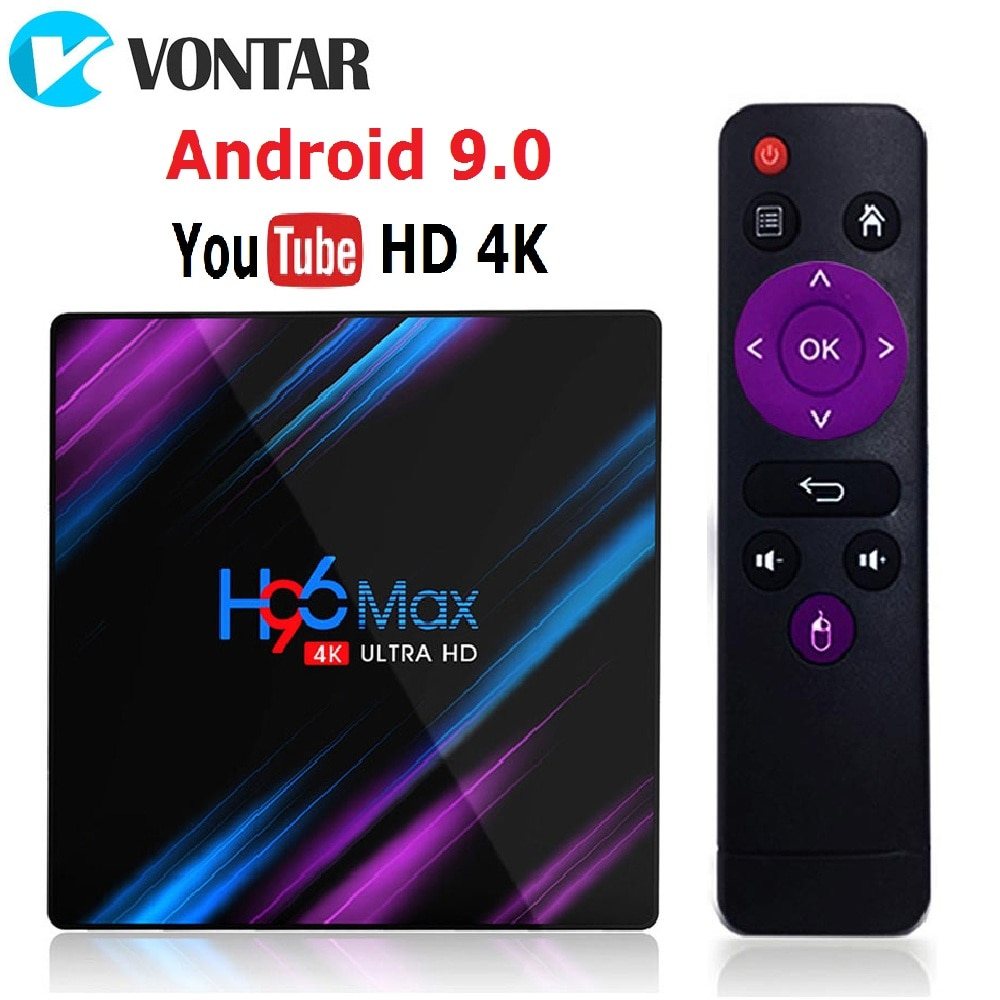 H96 MAX RK3318 Smart TV Box Android 10 Android 9.0 4GB 32GB 64GB 4K Youtube Media player H96MAX TVBOX Set top box 2GB16GB