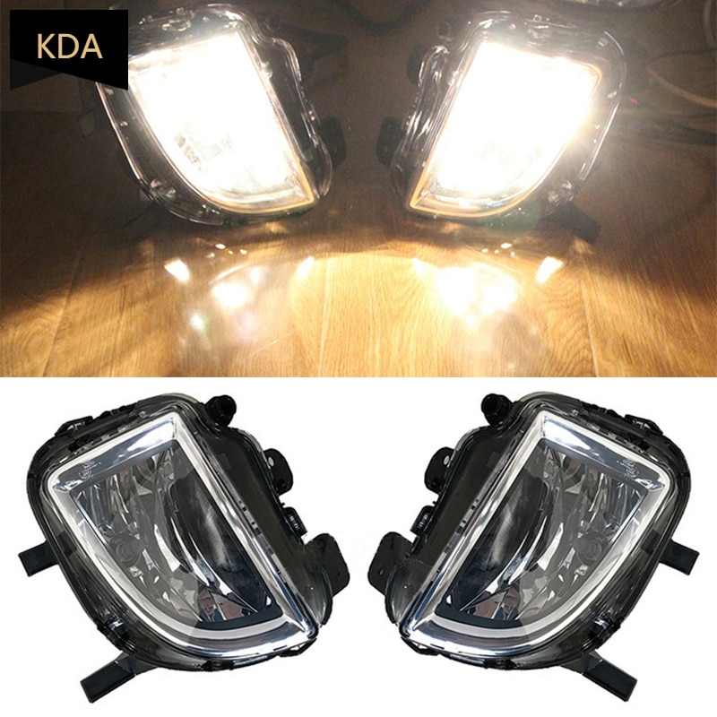 Auto Left Right Front Bumper Fog Lamp Light 55W Halogen Bulb For VW Golf 6 A6 MK6 Cabriolet GTI GTD Jetta GLI 2012-2016 раковина чаша 60 см ideal standard strada k078101