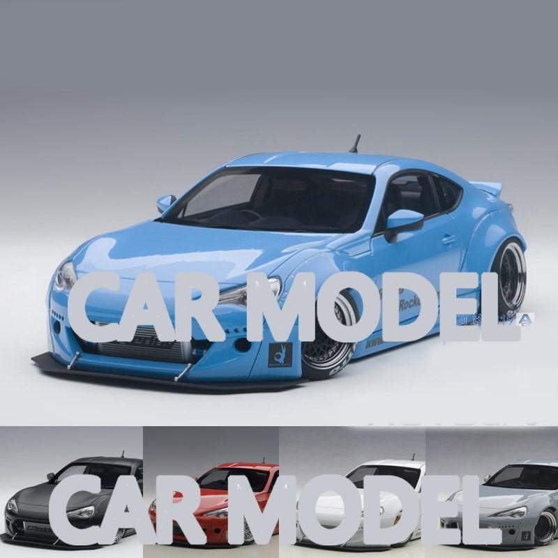118 escala liga de brinquedo veículos autoart foguete coelho fengtian 86 modelo de carro de brinquedo das crianças original autorizado crianças brinquedos