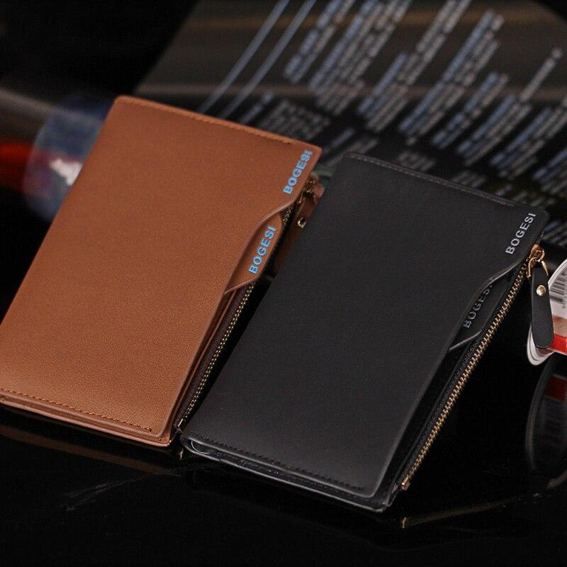 Мужские кошельки, компактные складные кошельки, многофункциональная упаковка для карт, маленькие кошельки на молнии, клатч, кошелек с зажим...