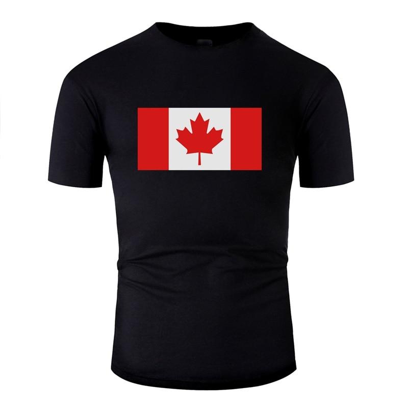 Camiseta con diseño de Create Canada, camisetas para hombre, 100%, de algodón, cómics, para niño y niña, camisetas con cuello redondo, Camisas 2020, Camisas de hip hop
