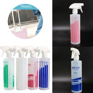 500ml Accurate Dilution Ratio Plastic Empty Bottle Watering Can Refillable Disinfection Liquid Fine Mist Sprayer Refillable Bott