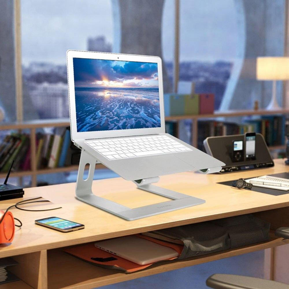 Алюминиевая Подставка для ноутбука эргономичная металлическая охлаждающая