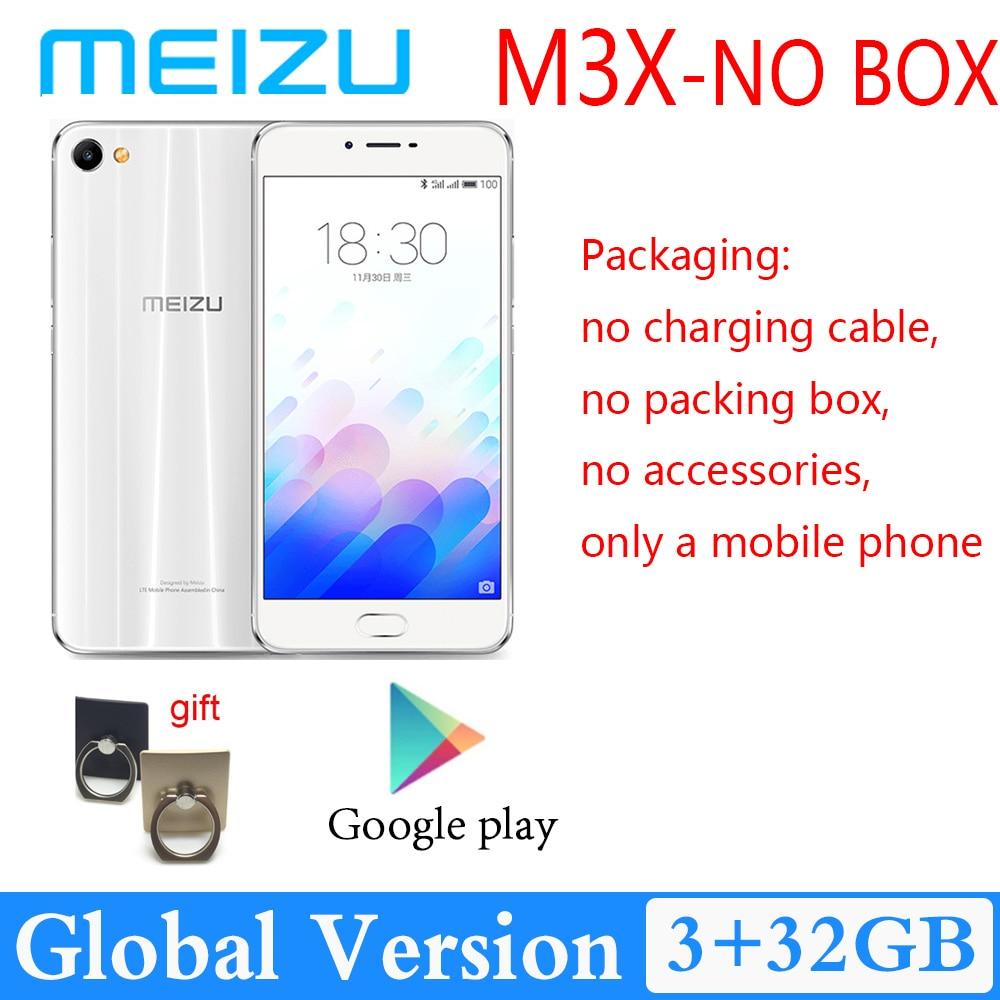 98%New Meizu M3X 3GB 32GB dual camera Android phone 3200mAh large battery Global version MediaTek He