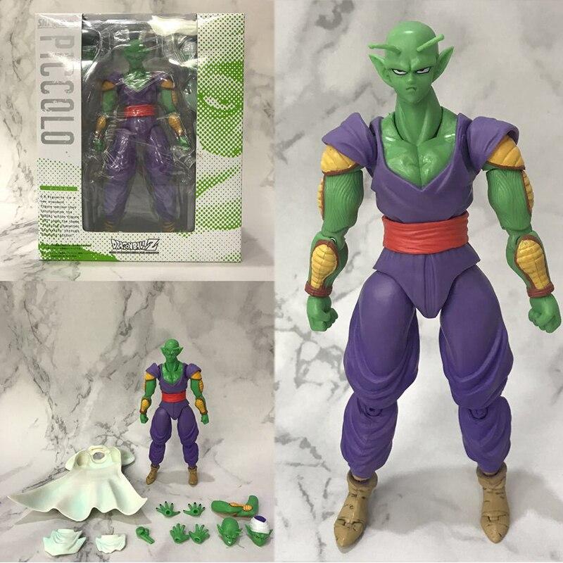 Figuras de Dragon Ball, SH Figuarts, figura de Piccolo, juguete coleccionable, juguetes Brinquedos, figura de acción, regalo de Piccolo