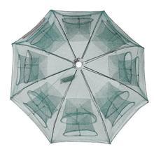 Strengthen 4-20 Holes Fishing Net Portable Sturdy Fish Mesh Net Umbrella-type Cast Net Fishing Tackle Accessory Fishing Network