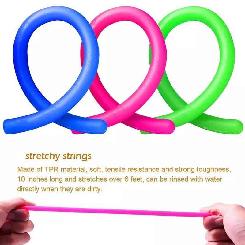 Bubble Fidget Toys Anti Stress Set Stretchy Strings Gift Pack Adults Children Squishy Sensory Antistress Relief simple dimple enlarge