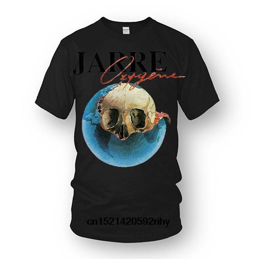 Lo más nuevo de 2018 camiseta para hombre, camiseta para hombres, camiseta única con cuello redondo y Jean Michael Jarre Oxygne