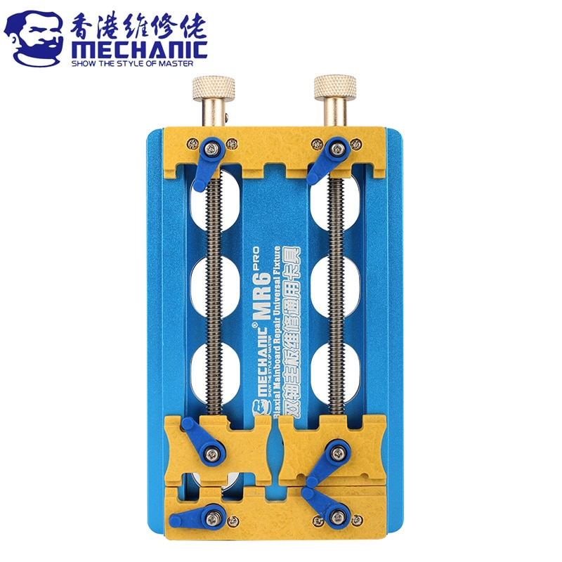 MECHANIC MR6 PRO Universal PCB Holder Precision Double-Bearings Fixture for Motherboard Integrated IC Chip Remove Glue Clamp