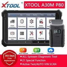 XTOOL Anyscan A30 OBD2 Car Diagnostic Tools Car Code Reads Full Systems Diagnostic Multi Car Brand With Andriods/IOS Free update
