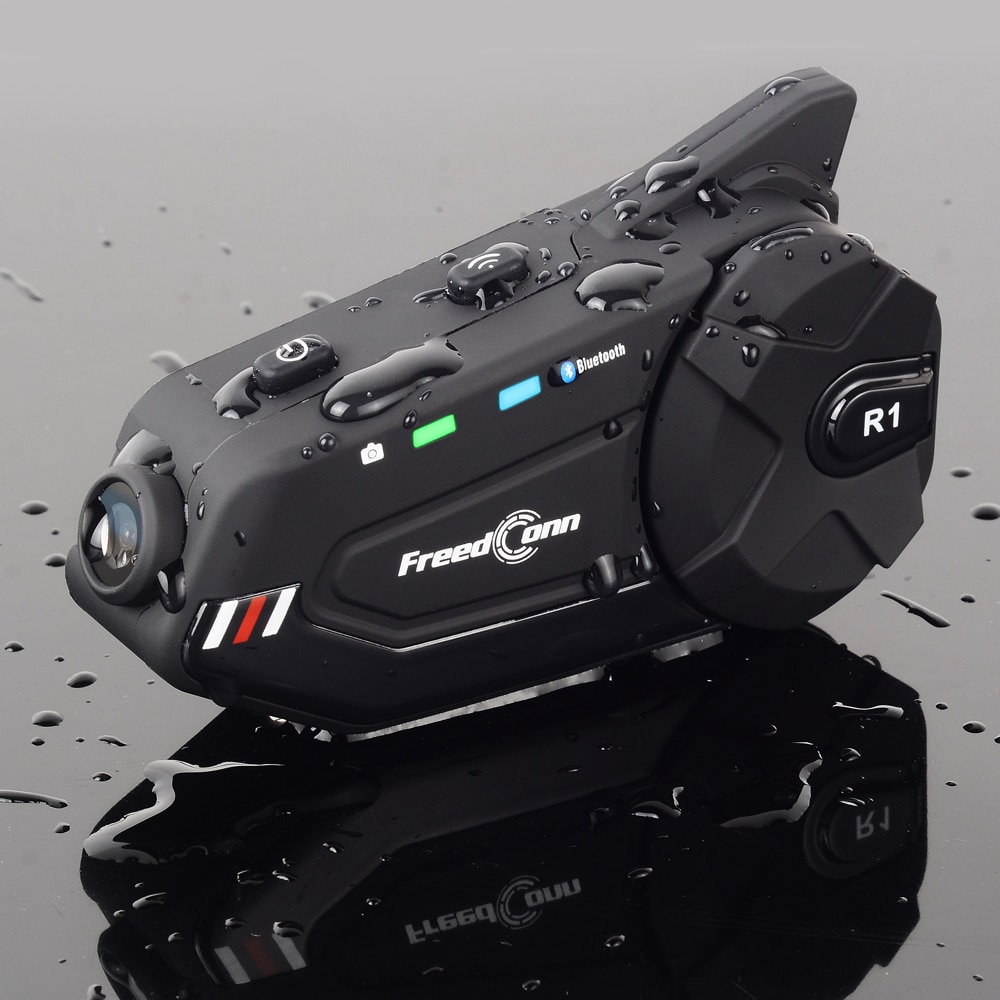 R1 Plus рекордер Wi-Fi Bluetooth 5,0 камера мотоцикла групповая Интерком HD 1080P видео FM Wifi 6 всадников шлем Переговорная гарнитура