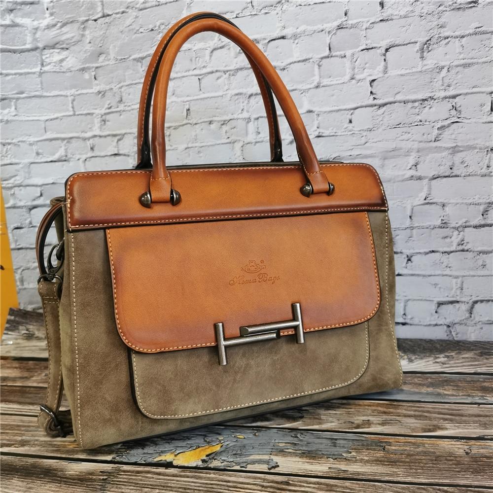 Bolso clásico de lujo de cuero para mujer, cartera de mano Vintage...