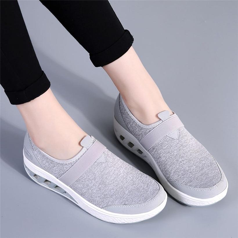 Zapatos para caminar al aire libre, zapatos deportivos para mujer