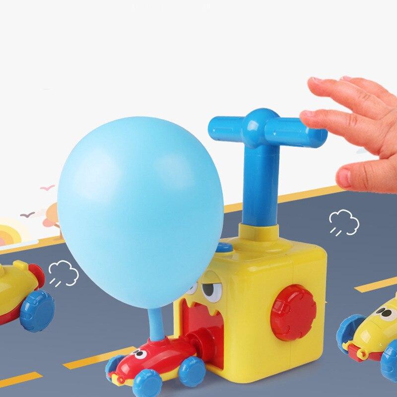 Силовой воздушный шар, автомобиль, воздушный силовой пресс, надувной воздушный шар, автомобиль с приводом для детей, научные и технологичес...