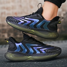 Fashion Sneakers Men High Quality Lace-up Mesh Shoes Air Mesh Male Brand Footwear Men's Casual Shoes