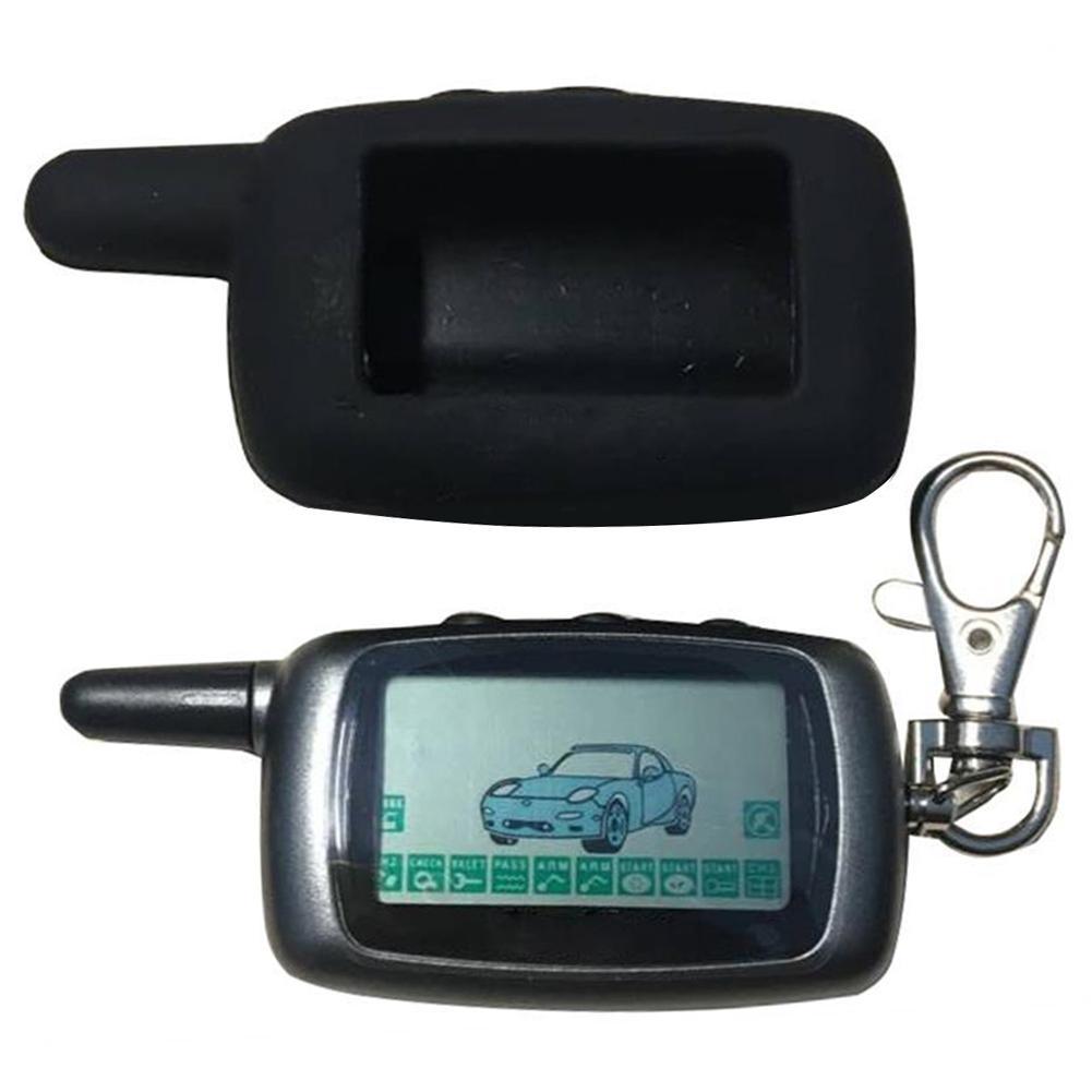 Keychain B9 Fernbedienung Schlüssel Für Zwei Weg Auto Alarm System B9 Auto Motor Starten mit Display Screen