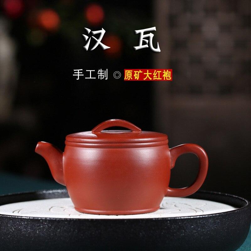 Manual recomendado um atacado despido minério dahongpao han watt casa bolha loja de chá lote misto do bule