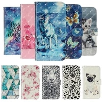 cartoon fashion case for samsung galaxy s5 neo s6 edge plus s7 s8 s9 s10 5g e a71 leather phone cover for samsung s20 ultra case