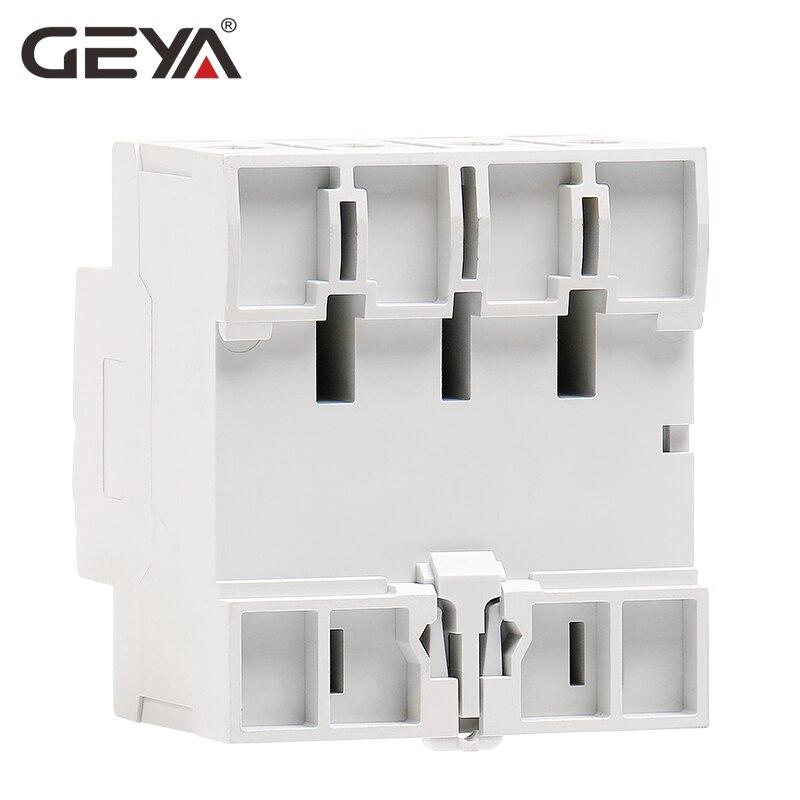Free Shipping GEYA GYL9 AC Type RCCB Residual Current Circuit Breaker AC ELCB 2 Pole 25A 40A 63A 80A 100A RCD 30mA 100mA 300mA