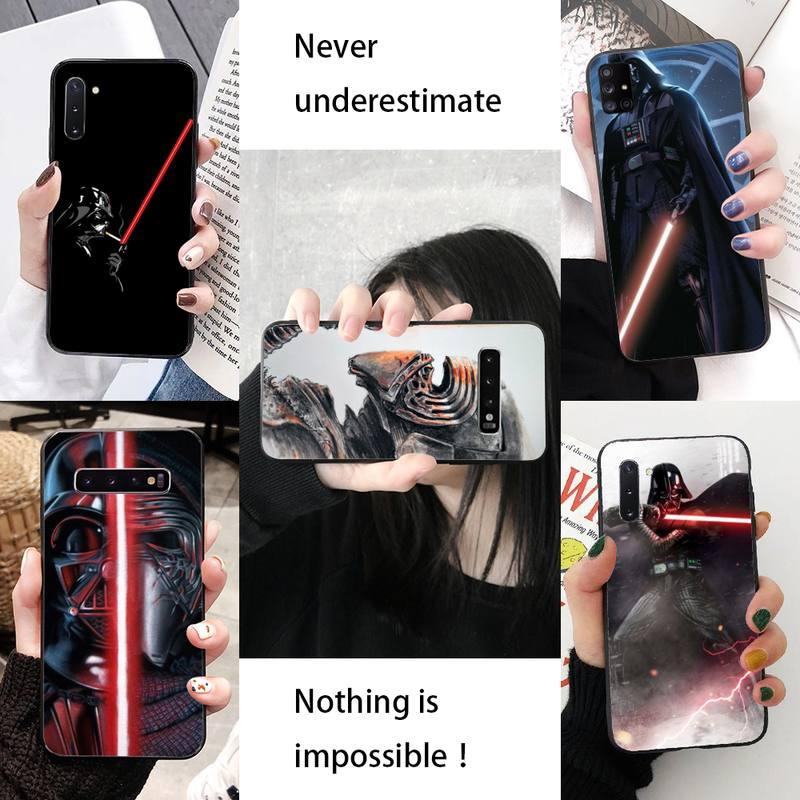 Funda de teléfono de goma blanda The War Of Star 3 para Samsung S10, S10lite, S9 plus, A10, A20, A30, A40, A50 y A50s
