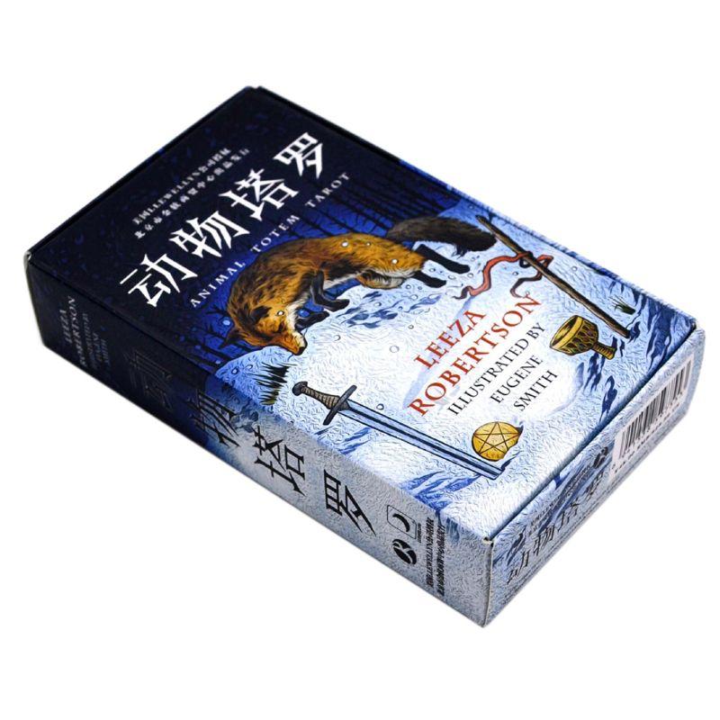NoEnName_Null Animal tótem Tarot juego de cartas naturaleza misterioso juego de divinación 78 tarjetas