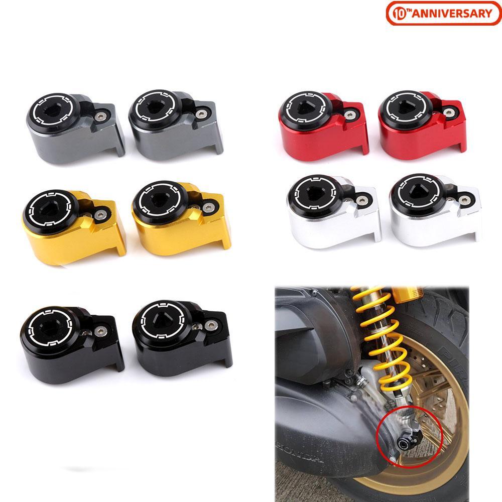 Для Yamaha Xmax 125 250 300 400 Nmax 155 Aerox Honda PCX 125 155 Forza 300 амортизатор Противоугонный замок Защита от кражи деко