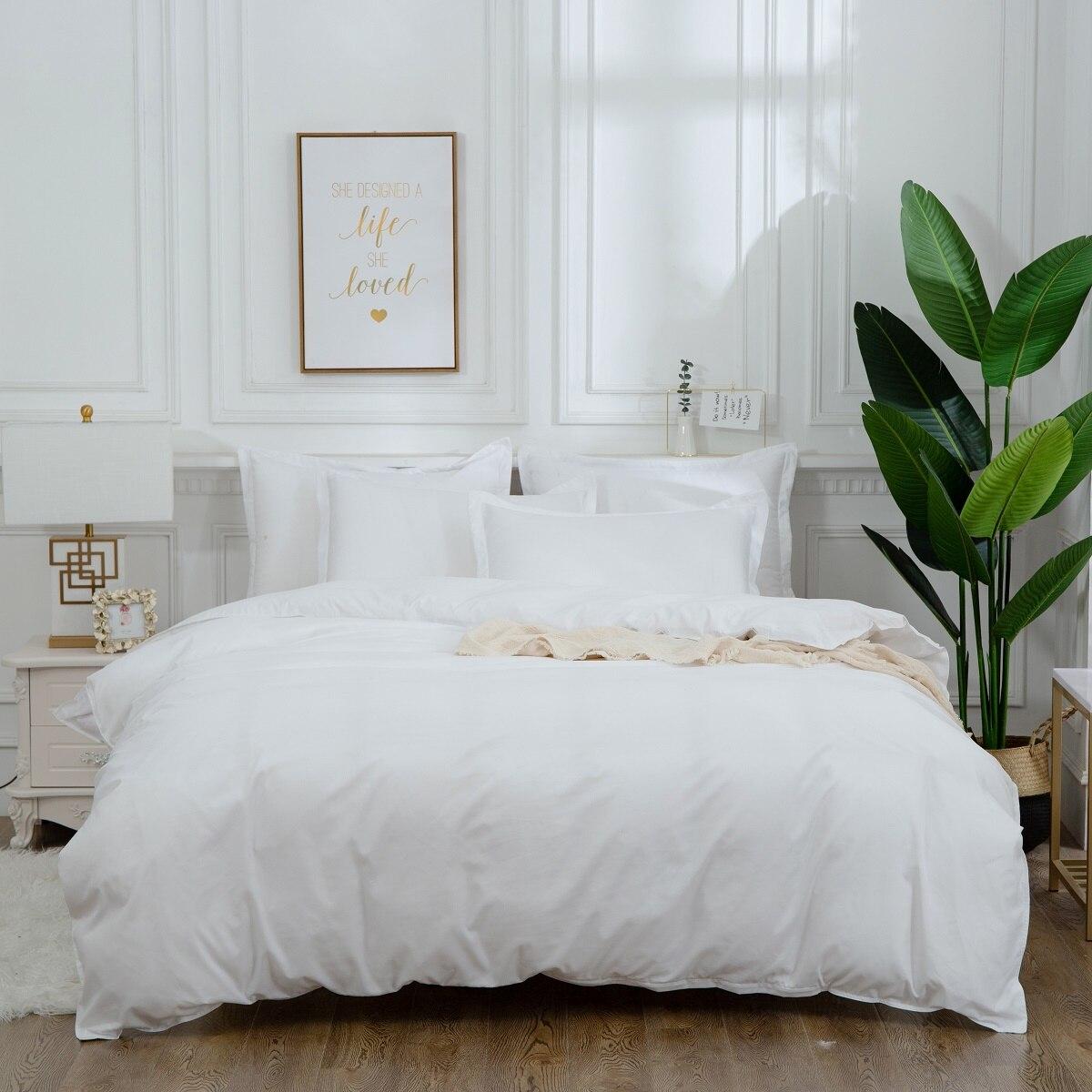 الأبيض غطاء لحاف للفنادق المخدة شريط هندسي أسود أحمر رمادي بسيط طقم سرير 2 أو 3 قطعة الصبي التين الكبار الفتيات