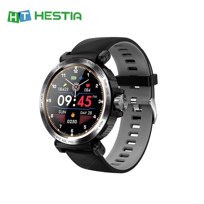 S18 ip68 à prova dip68 água relógio inteligente tela de toque completo pulseira esportes rastreador de fitness multi-função relógio 280mah câmera banda inteligente