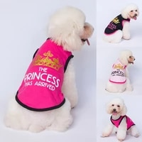 dog clothes for small dogs cute printed summer pets t shirt puppy dog clothes pet cat vest cotton pet costumes accessories