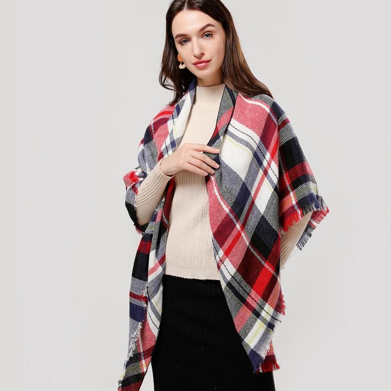 Плетен пролетен зимен дамски шал, - Аксесоари за облекла - Снимка 5