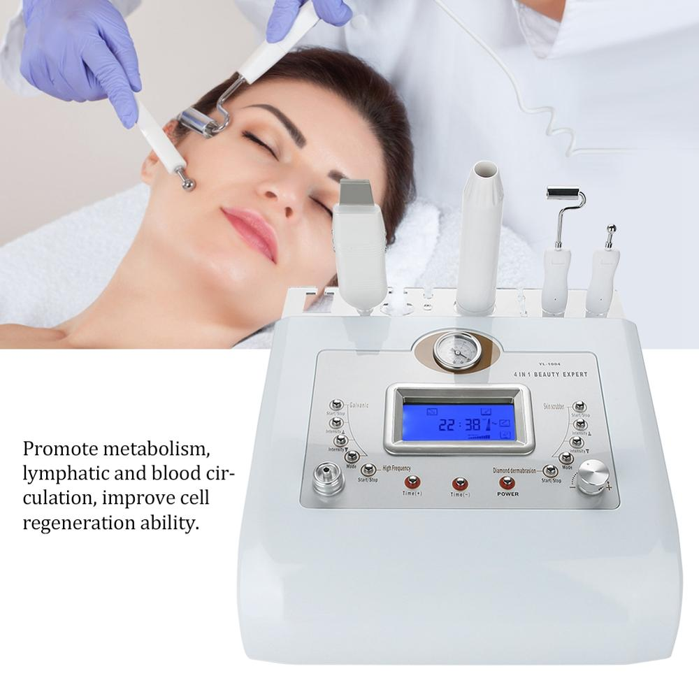 4 In 1 Micro-Carving Skin Rejuvenation Instrument Remove Horny Blackheads Fade fine Lines Shrink Pores Tenders Beauty Equipments
