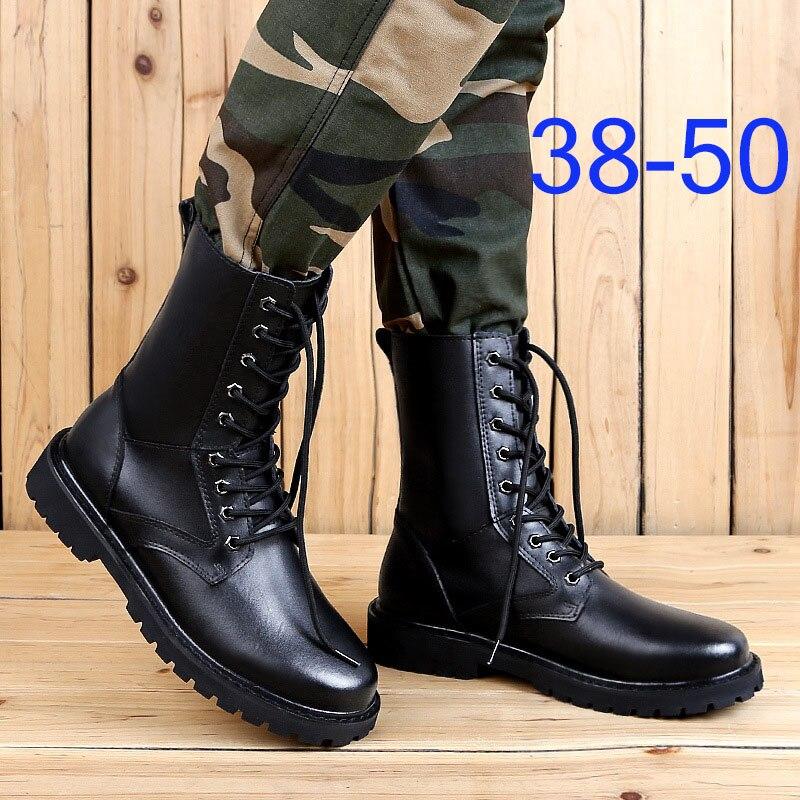 REETENE-أحذية شتوية من الجلد الطبيعي للرجال ، أحذية شتوية دافئة للغاية ، أحذية ثلج قطيفة كبيرة الحجم
