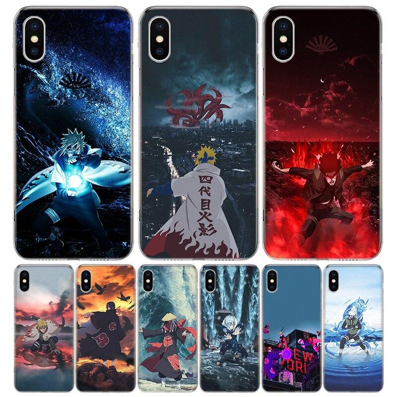 Anime Naruto Yondaime Hokage, caja del teléfono para Apple iphone 11 Pro XR X XS X Max 7 7 6 6S Plus + 7G 6G 5 2020 de lujo patrón de Coque