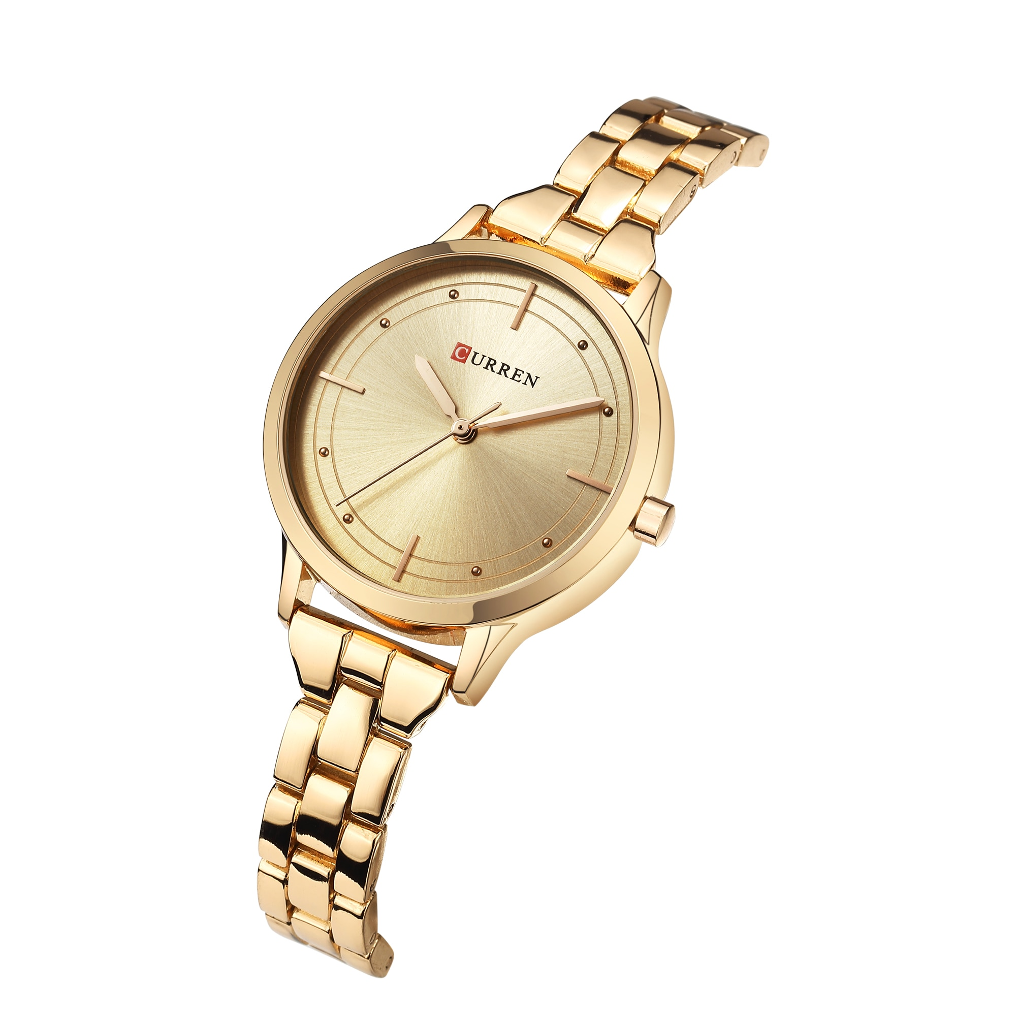 CURREN Women Watches High Quality Casual Wristwatch Gift for Female Reloj Mujer Water Resistant Stainless Steel Quartz Watches enlarge