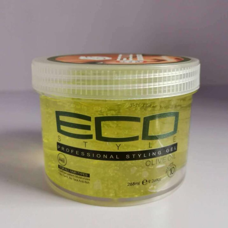 9.06oz /268ml American ECO Styling Hair Eco Style Gel, Olive Oil