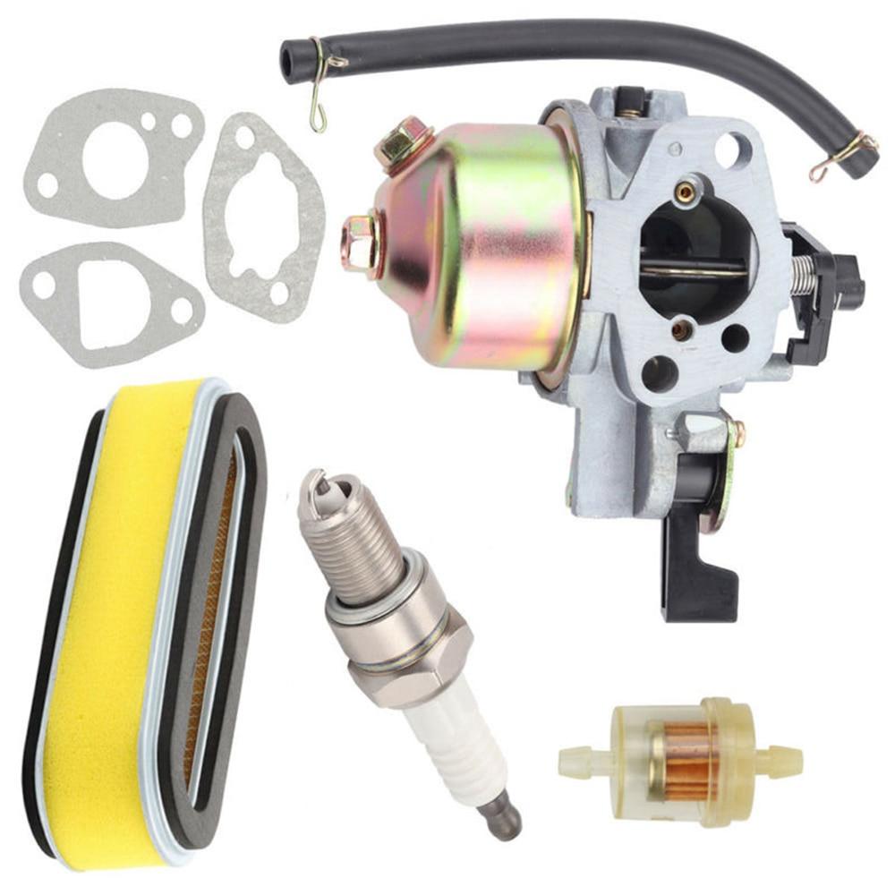 Chispa enchufe, carburador para Honda GXV120 GXV140 GXV160 HR194 HR195 de césped