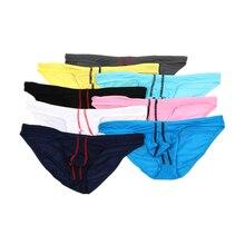 1/4/8pcs Sexy Men Briefs Underwear Mens Breathable Bikini Underpants Man Comfortable Briefs Underwea