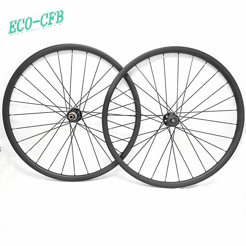 Aro de bicicleta 29 rueda de bicicleta de montaña 27x25mm disco sin cámara mtb ruedas de carbono conjunto de ruedas novatec D791SB D792SB 100x15 148x12 pillar 1420