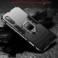 XIAOMI противоударный бронированный автомобильный чехол-подставка с кольцом для телефона Mi 9 8 SE 6X A2 A3 Lite 9T Pro CC9 CC9E MAX 2 3 Redmi 7 7A K20 Pro