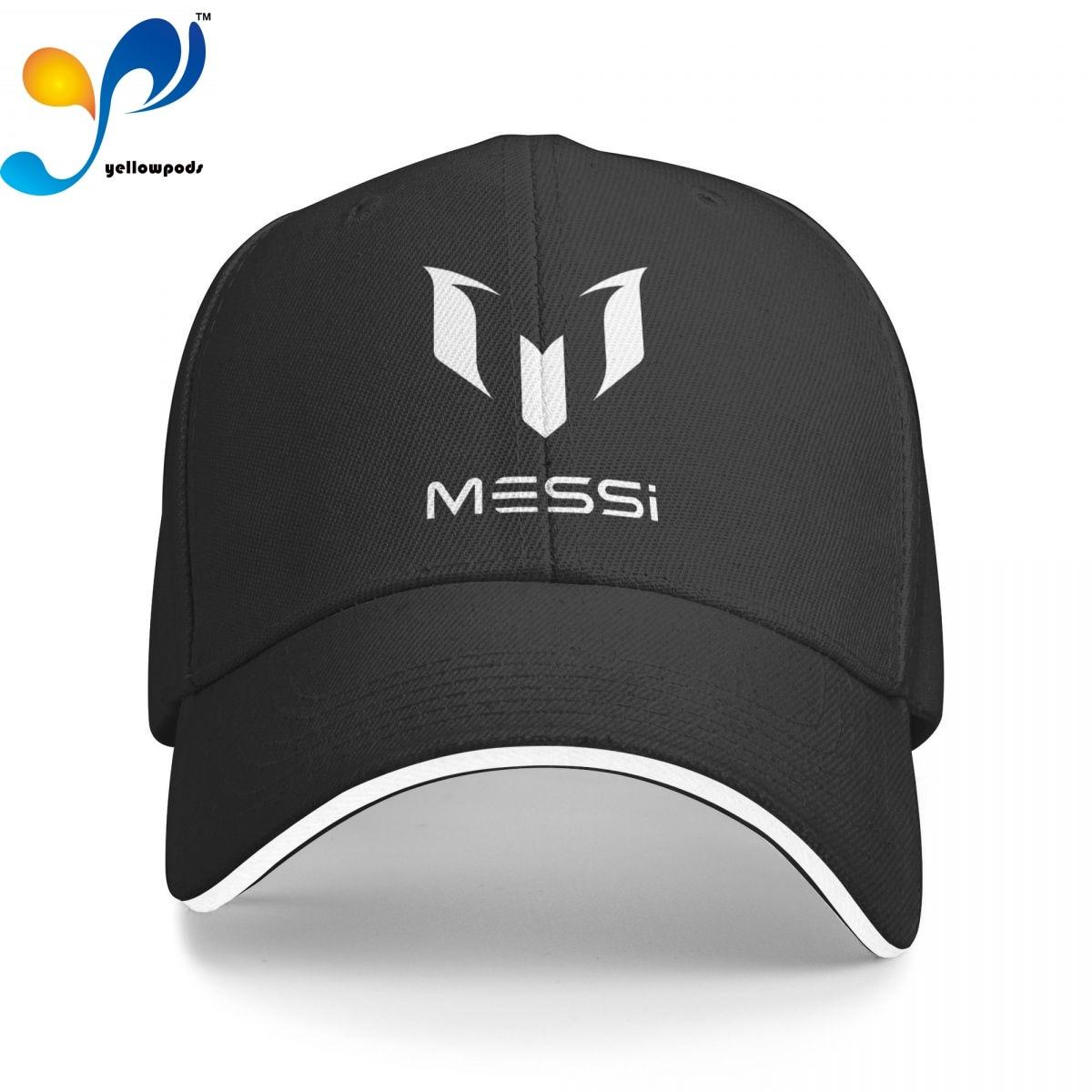Футболка с Месси, Кепка-бейсболка для мужчин, бейсболка с клапаном, мужские шапки, кепки с логотипом