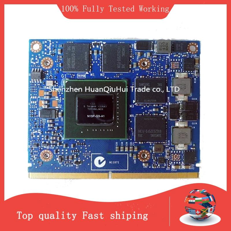 الأصلي K2100 K2100M بطاقة جرافيكس ، 2GB ، N15P-Q3-A1 DDR5 VGA فيديو لديل M4700 M4800 بطاقة VGA