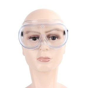 Transparent Safety Goggles Anti-splash Impact Resistant Work Goggles For Rider Eye Protector Adjustable Elastic Band Hot Selling