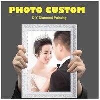 Photo personnalisee 5D  bricolage  peinture de diamant privee  faites votre propre peinture de diamant  decor de maison  images suspendues