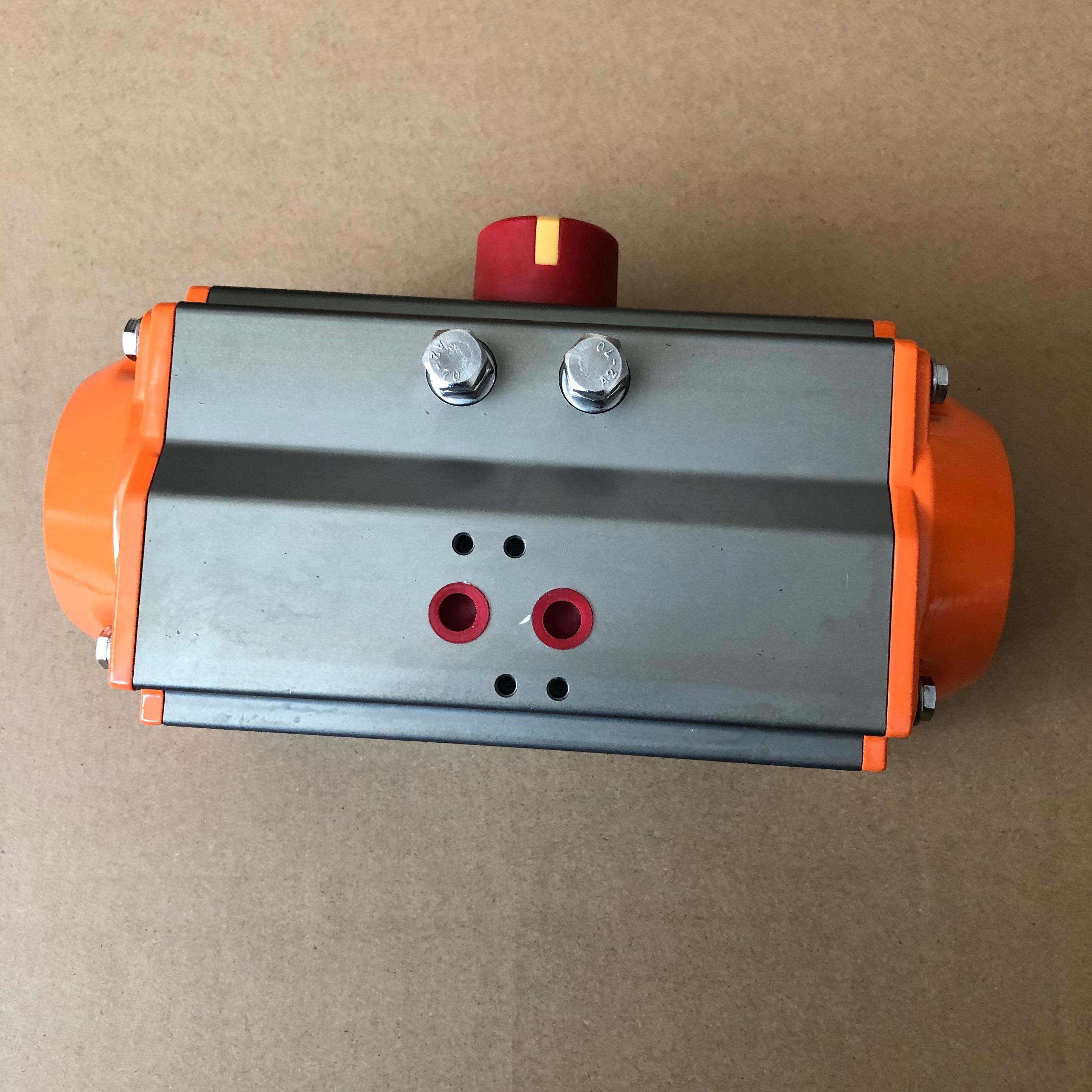 75 Mm Pneumatische Actuator Pneumatische Dubbelwerkend Bal Vlinder Klep
