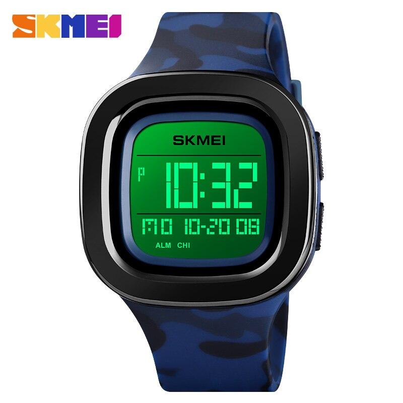 Sports Watches Men Fashion Casual Wristwatch LED Digit Electronic Watch Waterproof Chrono Man Military Clock Relogio Masculino