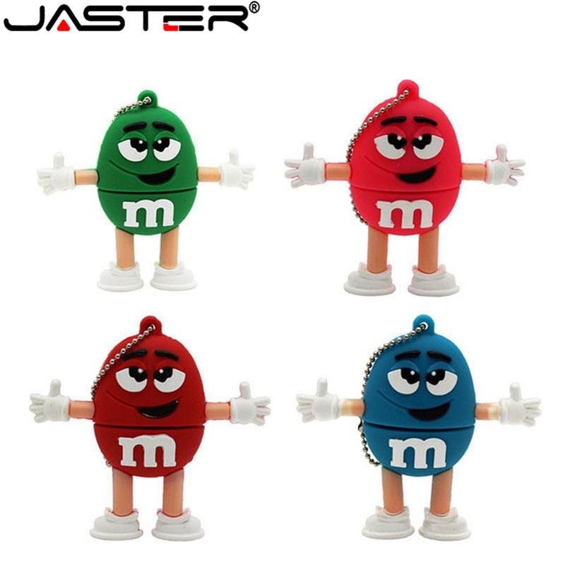 JASTER-unidad flash USB 2,0 de M & M, pendrive de 4GB, 8GB,...