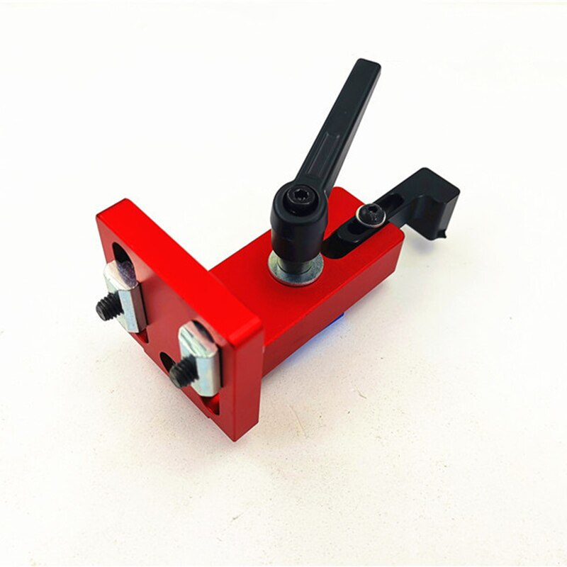 1Pcs T-track Slot Connector Sliding Brackets Chute Woodworking Machinery Part Module 30/45 T Track T-stop Aluminium Woodworking