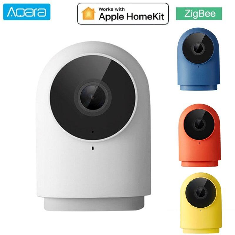 ¡Novedad de 2020! Cámara Aqara G2H 1080P HD de visión nocturna móvil para Apple HomeKit APP monitoreo G2H Zigbee Cámara inteligente de seguridad para el hogar