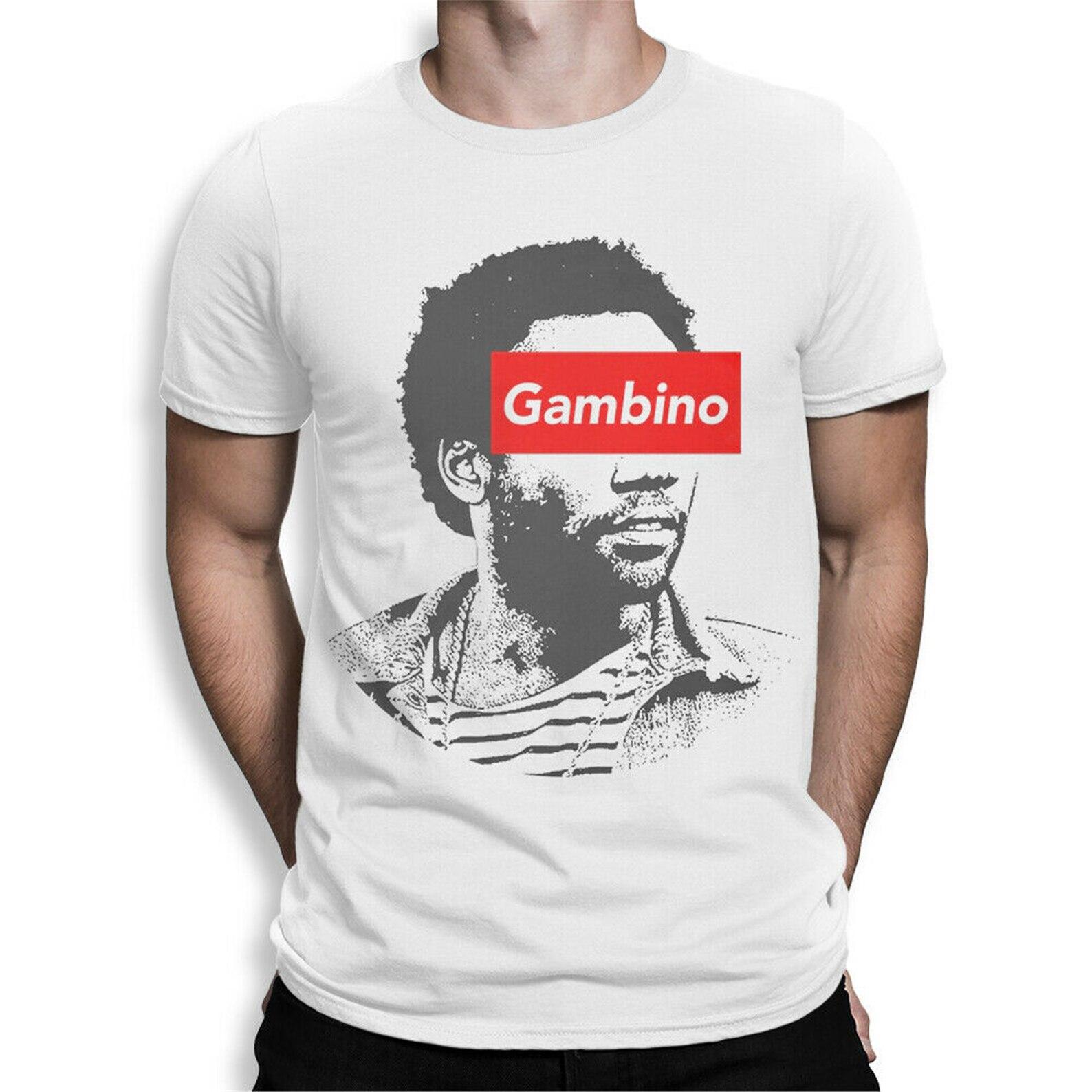 Camiseta infantil de Gambino, camiseta de Rap Donald Glover, camisetas harajuku para hombres, camiseta